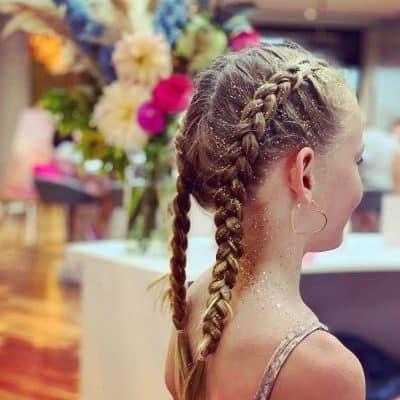 Miss Petite Glitter Braid