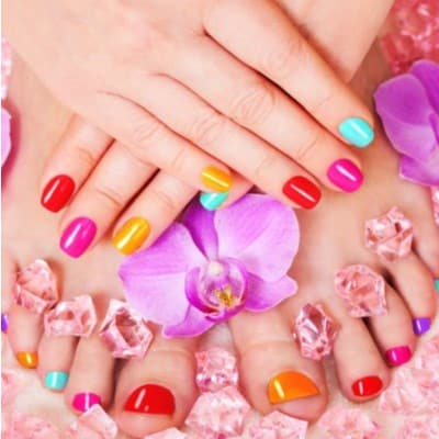 Miss Petite Mummy and Me Pamper Package - Manicure and Pedicure